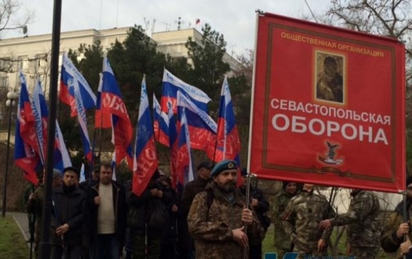 Як в ЛДНР і Криму відзначили 23 лютого