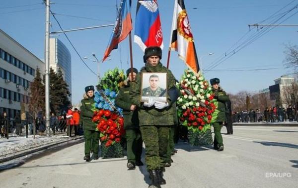 У Донецьку поховали Гіві: фото, відео