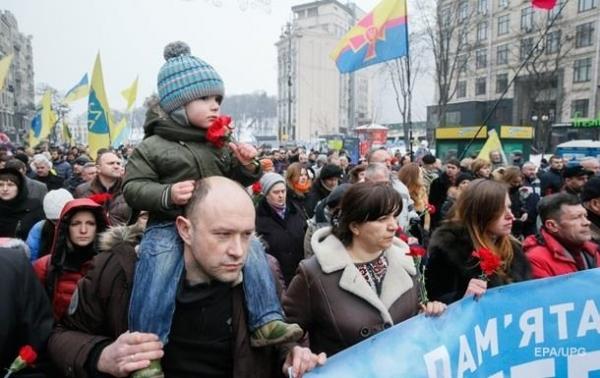 Итоги 18.02: Годовщина Майдана, указ Путина о ЛДНРСюжет