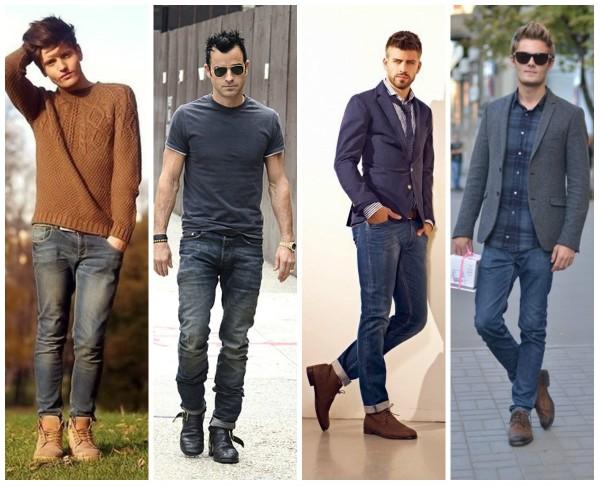 Мужские туфли под джинсы, какие выбрать