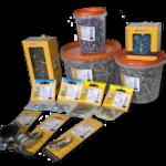 Міцна упаковка для фасування металовиробів