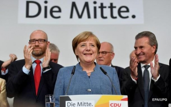 Итоги 24.09: Победа Меркель и гибель генерала РФСюжет