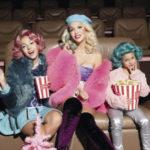 Оля Полякова с красавицами-дочками снялась в фотосессии для Viva!