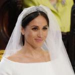 Весільний образ Меган Маркл: фата довжиною п'ять метрів і діамантова тіара