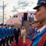 Порошенко начал визит в Сербию