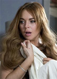 Ліндсі Лохан назвала слабачками скаржаться на домагання жінок