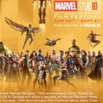 Всі фільми киновселенной Marvel покажуть в IMAX