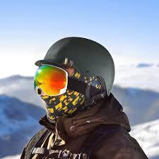 Как предотвратить запотевание горнолыжной маски?