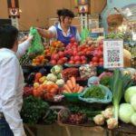 На київському ринку можна розрахуватися за овочі криптовалютой