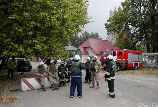 На військовому складі поблизу Ічні тривають вибухи різної інтенсивності
