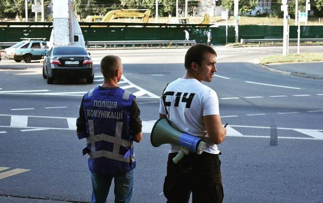 У Борисполі в квартиру координатора С14 кинули вибуховий пристрій, є поранений