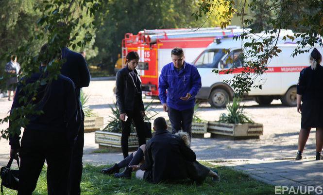 В Керчи возросло количество погибших от взрыва и стрельбы в колледже