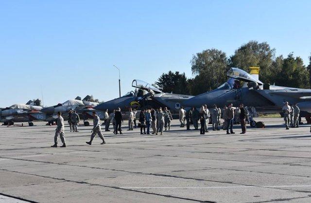 В Україні стартували військово-повітряні навчання з участю авіації НАТО
