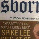 "[:ru]Новозеландская газета ""похоронила"" Спайка Ли вместо Стэна Ли[:uk]Новозеландська газета ""поховала"" Спайка Лі замість Стена Лі[:]"