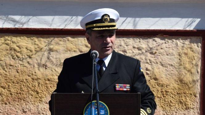 Глава ВМС Украины предложил себя в обмен на задержанных РФ моряков