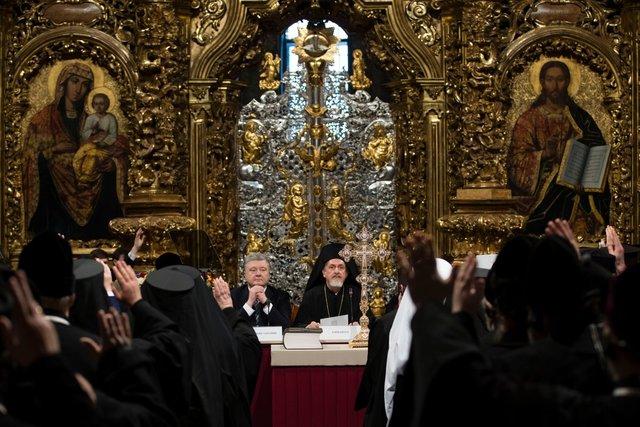 Як проходить Об'єднавчий собор, опубліковані нові фото з Софії Київської