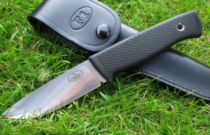 Лучший нож для выживания и охоты Fallkniven F1 от военных Швеции