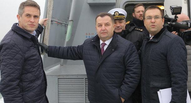 Міністр оборони Великобританії заявив, що англійський корабель в Україні – це сигнал для Росії