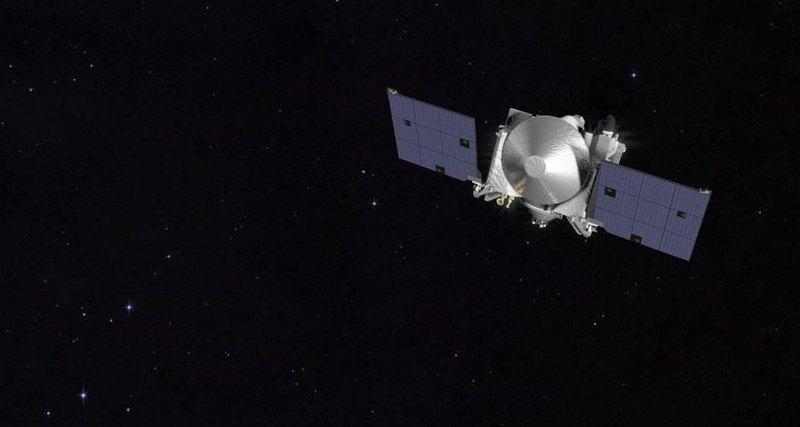 NASA показало вращение астероида Бенну