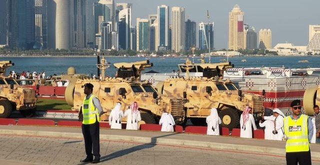 """Украинские ракеты и турецкий боевой модуль: на параде в Катаре показали """"убийцу танков"""", фото"""