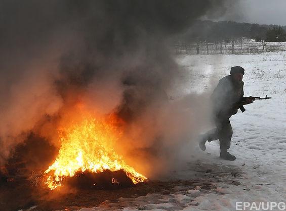 В зоне ООС двое украинских военных получили ранения в результате обстрелов