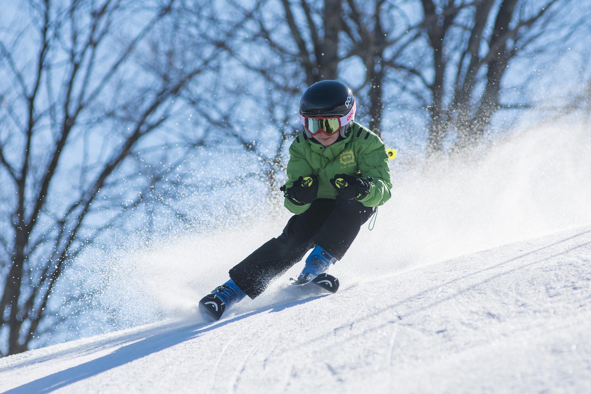 ребенок сноуборд спорт