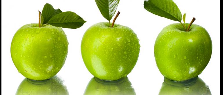 Медики рекомендуют съедать в день не меньше трёх яблок
