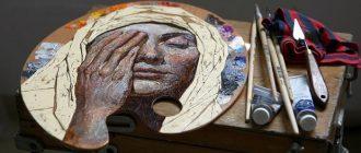 Американка белорусского происхождения рисует очаровательные скетчбуки и миниатюры на палитрах