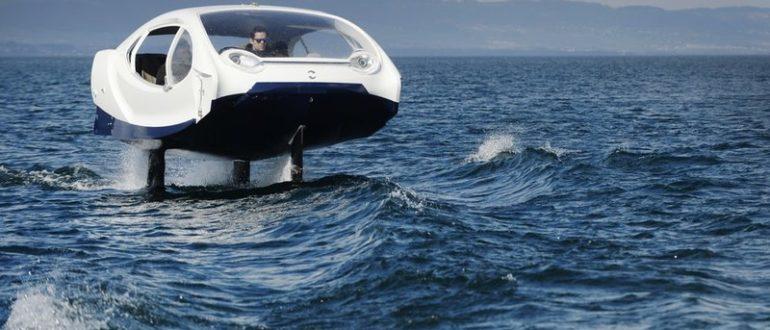 Электрическое «летающее» водное такси показали в работе