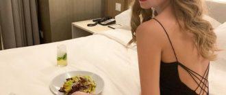 Кристина Асмус назвала свой вес и призналась, что постоянно голодает