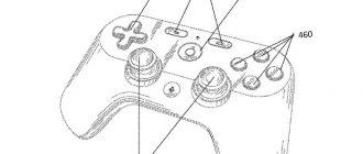 Как может выглядеть игровой контроллер от Google
