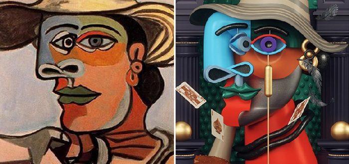 Пікассо, відтворений у 3D: Інтерпретація знаменитих картин на новий лад