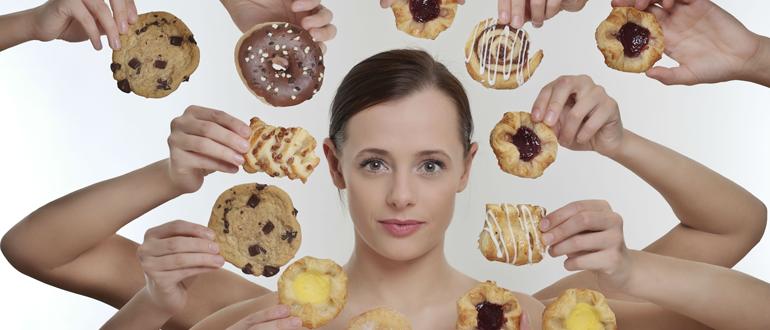 Как не сорваться с диеты во время работы