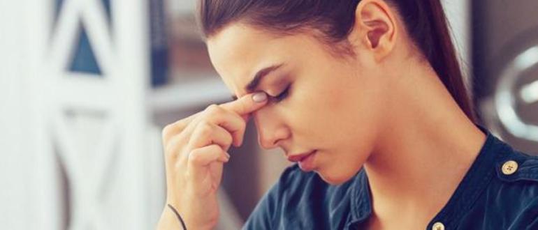 Головная боль в висках и затылке, причины и лечение