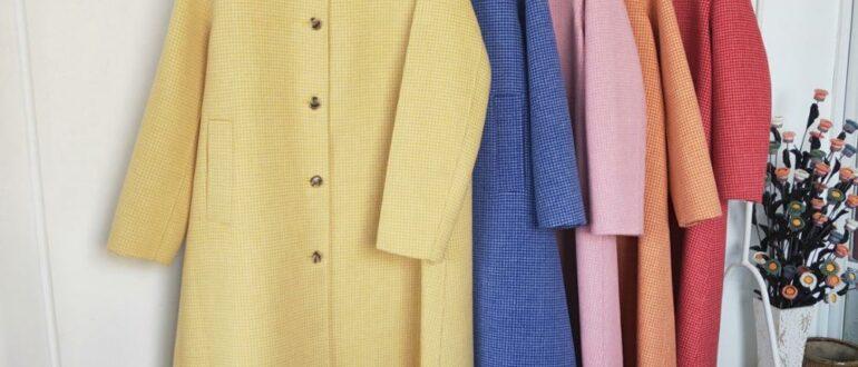 Современные материалы для пошива пальто