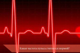Какая частота пульса считается нормой?